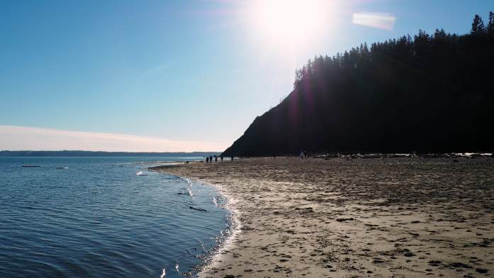 Double Bluff Beach Whidbey Island - Live Recklessly - Whidbey Island Wine Trail