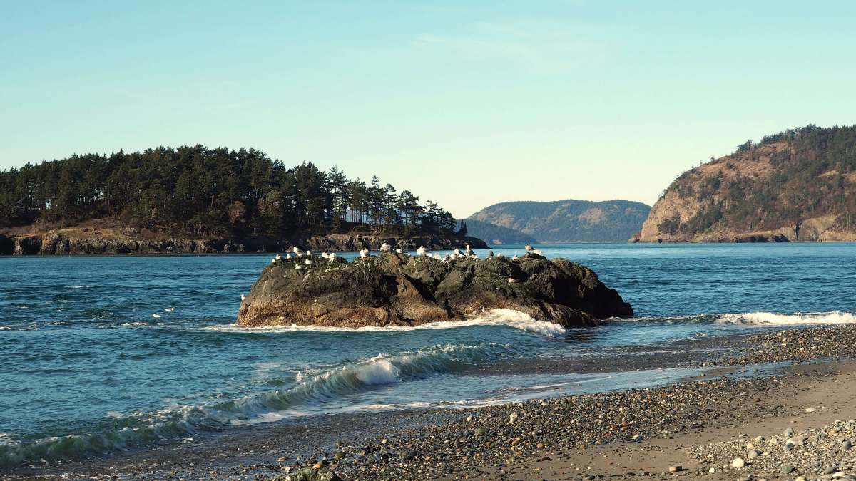 Postcard from Deception Pass State Park, Washington - Live Recklessly