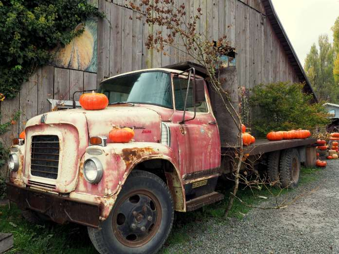 Farm store at fall La Conner - Ultimate Weekend Guide to La Conner - Live Recklessly