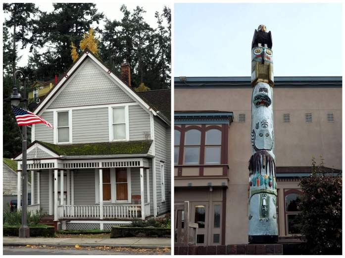 La Conner collage old v new - Ultimate Weekend Guide to La Conner Washington - Live Recklessly