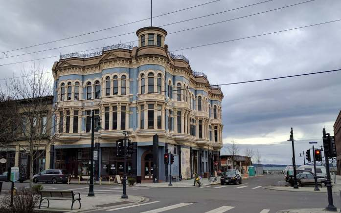 Port Townsend victorian buildings - An Olympic National Park road trip - Live Recklessly