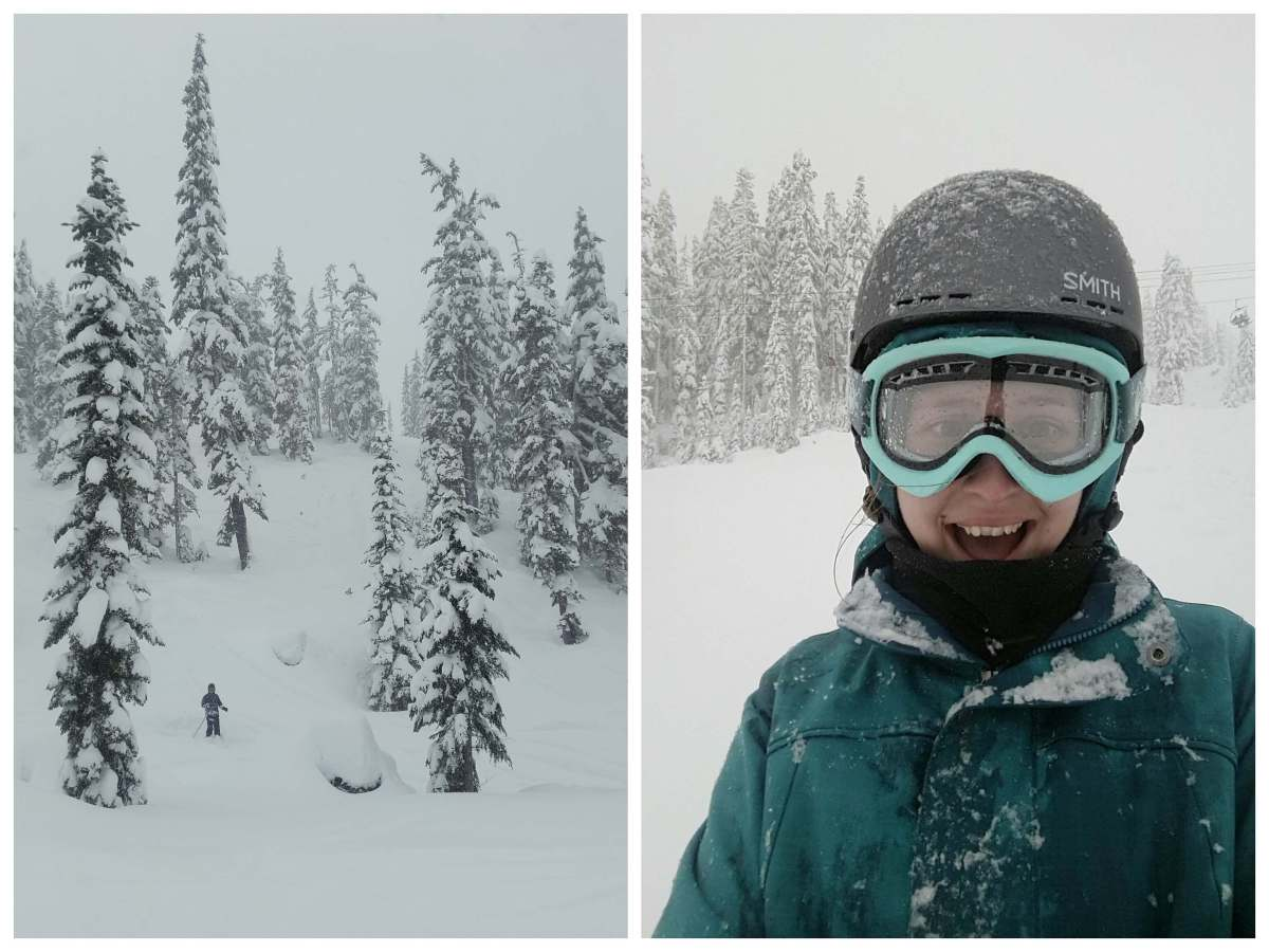 Snowy days at Mt Baker - Live Recklessly