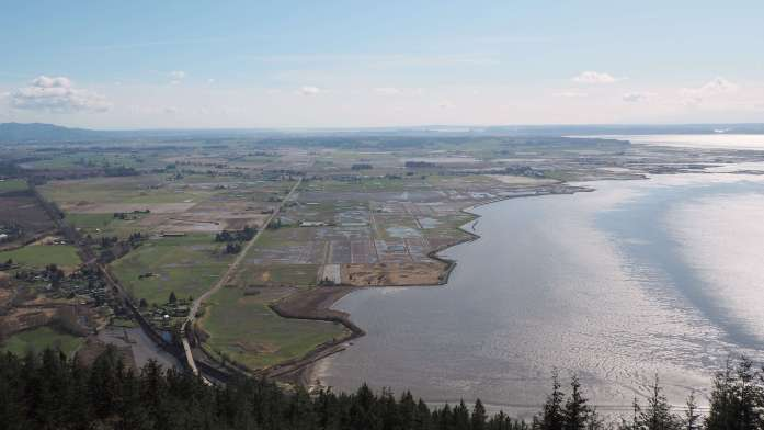 Views of Skagit Valley farmland from Samish Overlook - Save Blanchard Mountain Washington - Live Recklessly