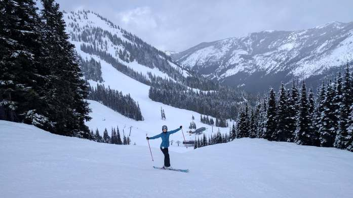 ski dani weekend crystal mountain resort washington - Expat Escapades March 2017