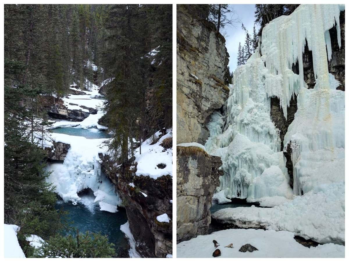Expat Escapades April - Johnston Canyon Banff