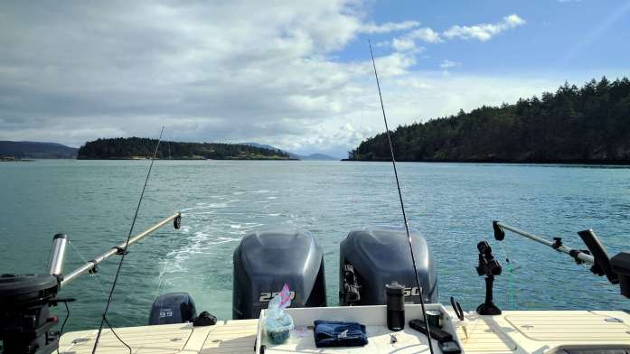 Expat Escapades April 2017 Salmon fishing San Juan Islands