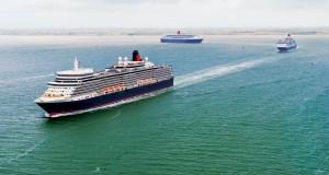Cunard's Three Queens