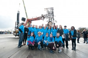 A group of volunteers for Sea Odyssey 2012