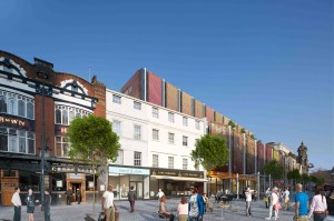 Proposed Lime Street scheme