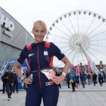 LiverpoolTriathlonRichardWilliams BBC Breakfast presenter Louise Minchin Pic-33