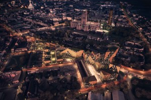 How 'new Chinatown' would look at night