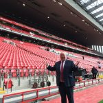 Mayor impressed by new Main Stand at Anfield