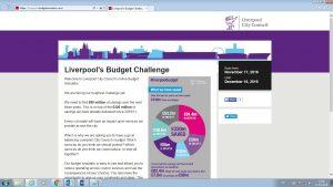 The Liverpool Budget Simulator