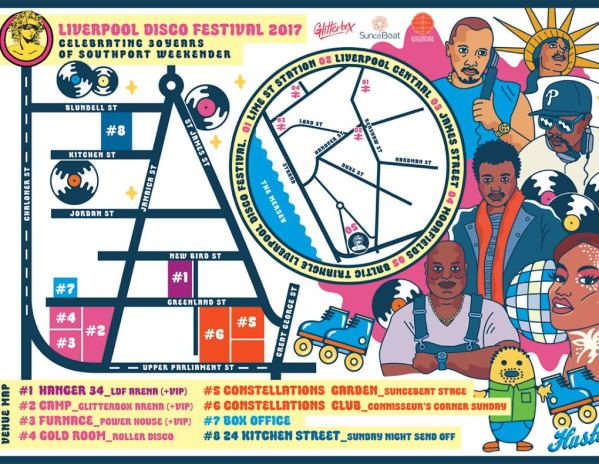 LiverpoolDisco Festival Site Map