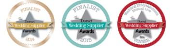 Dorset wedding supplier awards badges