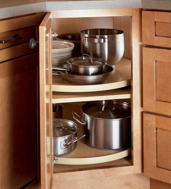 Kitchen Cabinet Accessories Blind Corner how to deal with the blind corner kitchen cabinet | live simply