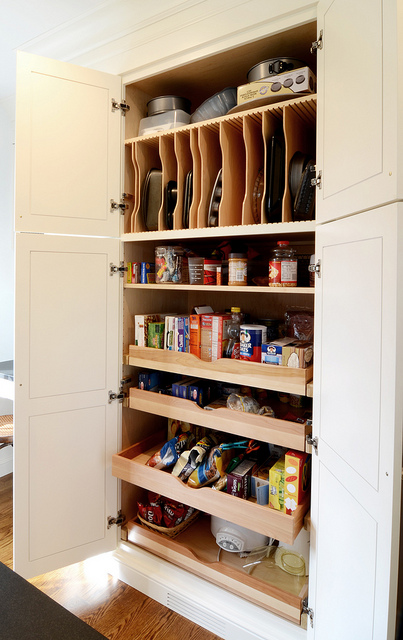 how to deal with pantry pull out shelves live simply by annie. Black Bedroom Furniture Sets. Home Design Ideas