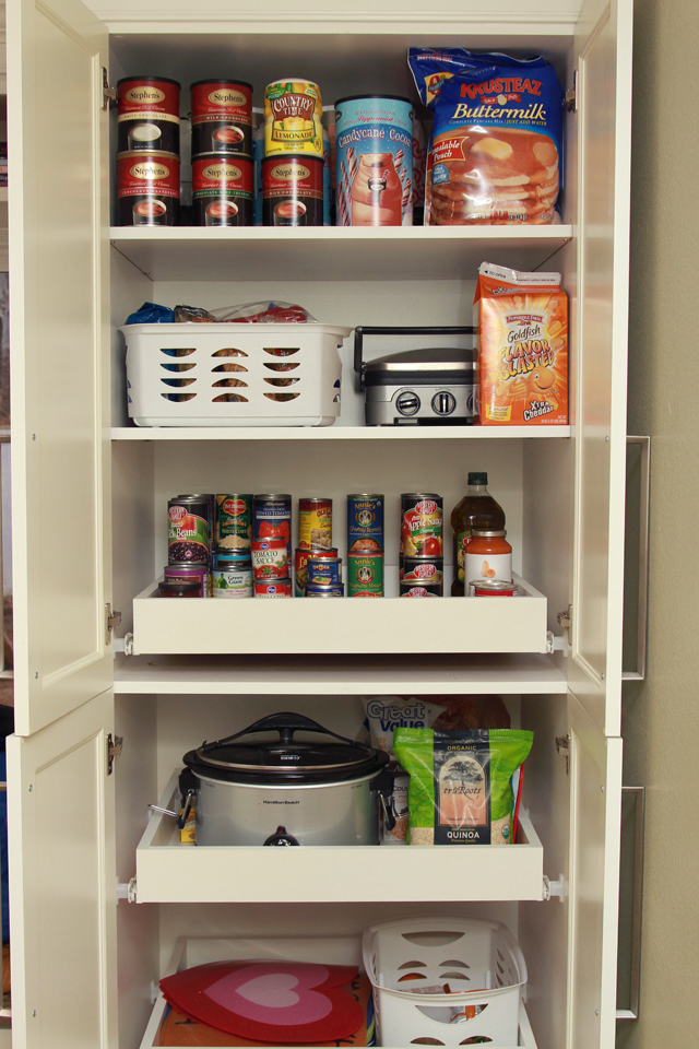 Those Are My Tips; How Do You Deal With Pantry Pull Out Shelves?
