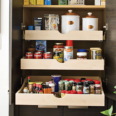 How To Deal With Pantry Pull Out Shelves | Live Simply by Annie