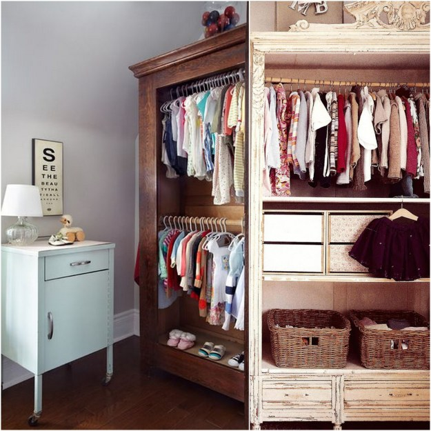 Children's Armoire Closet, An Easy Storage Solution | Live ...