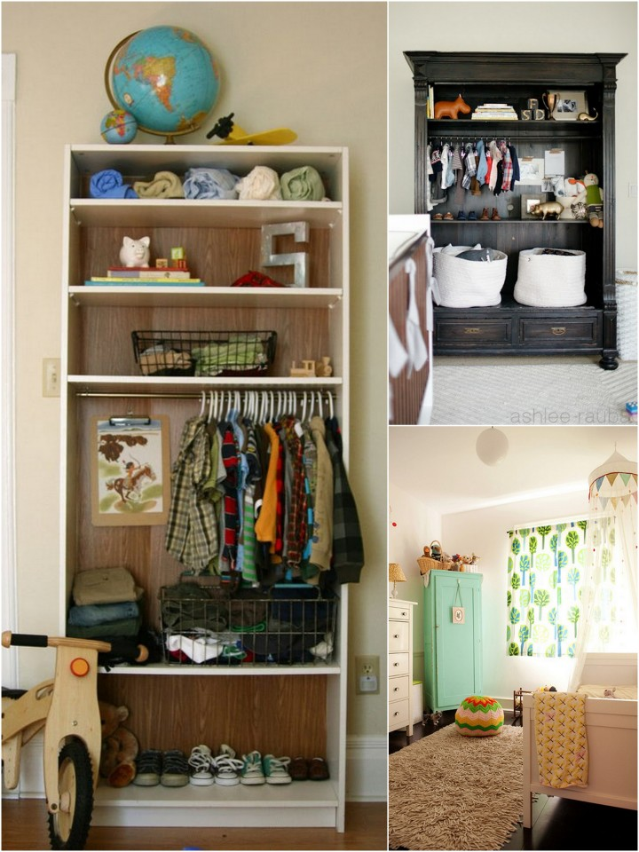 Childrens Armoire Closet An Easy Storage Solution Live