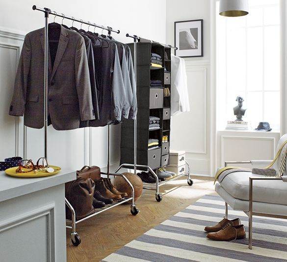 The No Closet Garment Rack Closet (19 Winning Examples + Where To ...