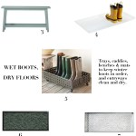 Boot Trays For Entryways