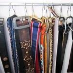 Madrona Master Closet Organization: DIY Belt Hanger