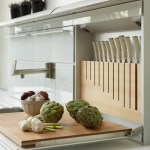 The Ideal Kitchen: Fold Down Prep Station