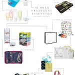 Summer Travel Organizing Essentials