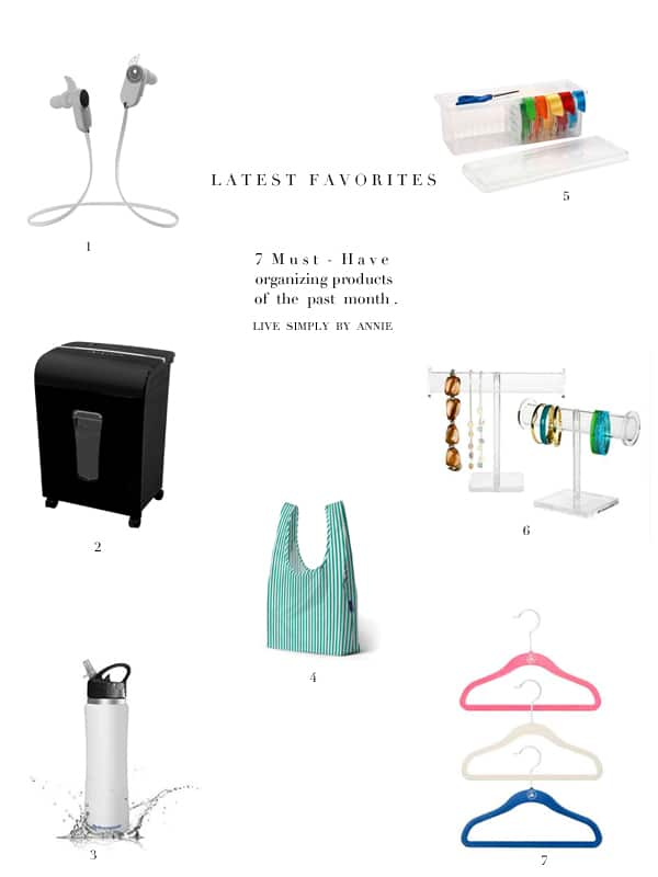 Must have organizing products for a professional organizer!