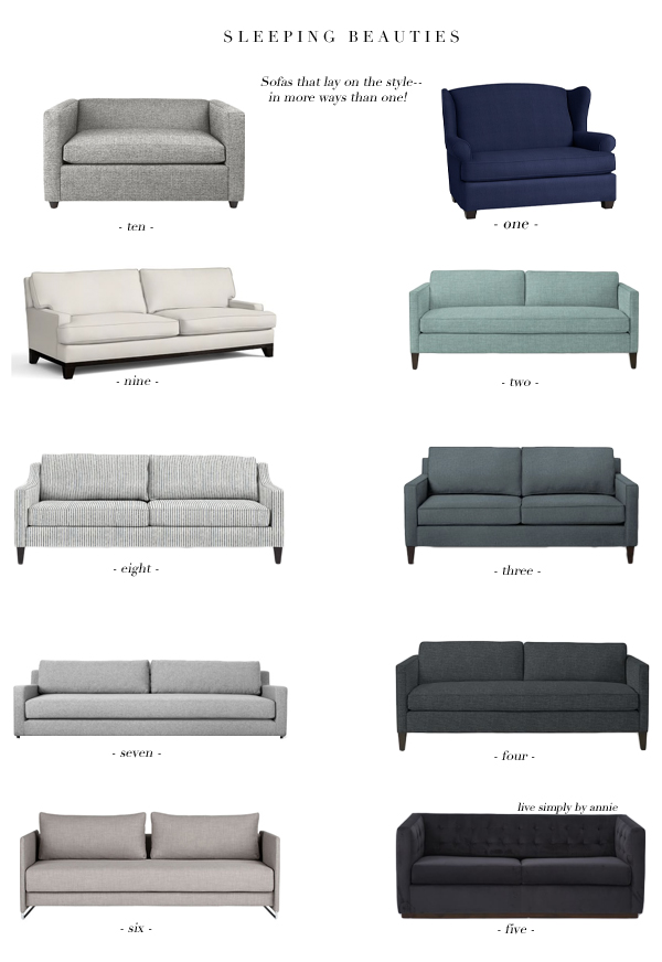 Super Stylish Sleeper Sofas!