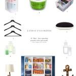 Organizing Product Favorites: November 2015