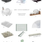 Dish Drying Racks That Are (Actually) Compact & Attractive!