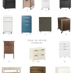 14 Uber Stylish Filing Cabinets To Get You Excited To File (Or, You Know, Make You Dread The Task Less)
