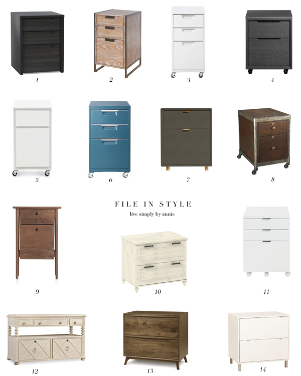 Merveilleux These Super Stylish Filing Cabinets Might Actually Make You Excited To File!  (Maybe.