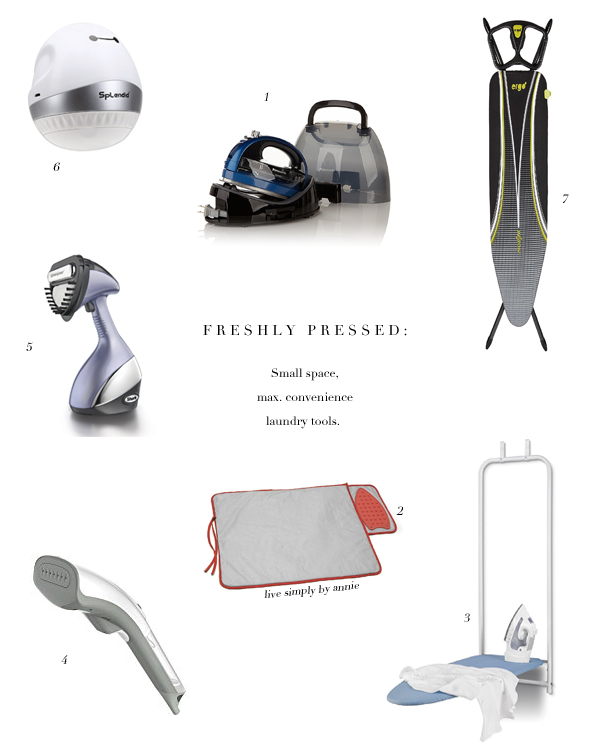 the best laundry tools for small spaces and hectic schedules. These are cordless, versatile options that making caring for your clothes so much more convenient.