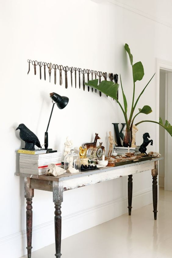 Ideas for elevating everyday objects that you inexplicably love into decor for your space.