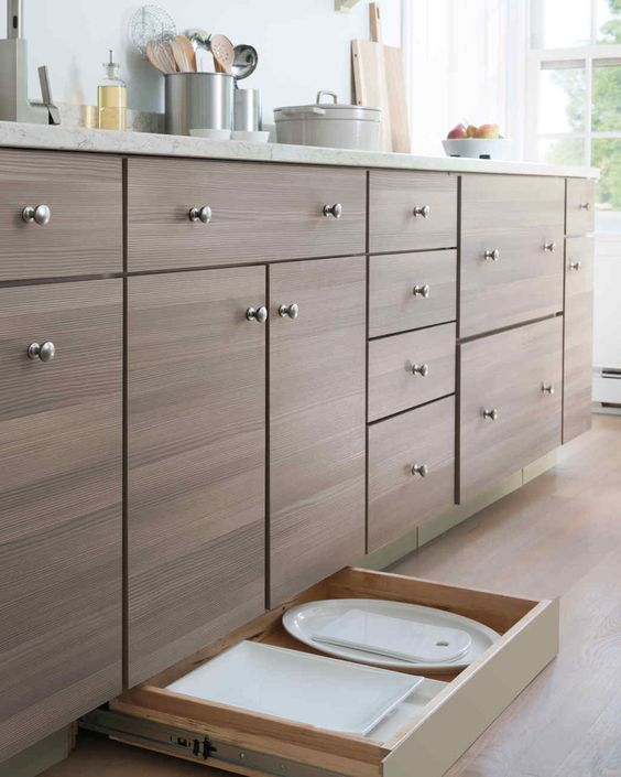 The Ideal Kitchen: Toe Kick Drawers