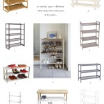 10 Shoe Racks For Cluttered Entryways, Coat Closets & Beyond