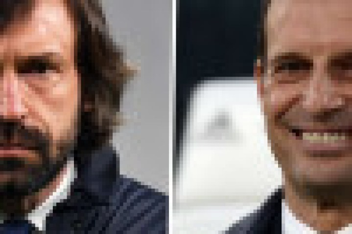 Juventus have replaced Andrea Pirlo with Max Allegri