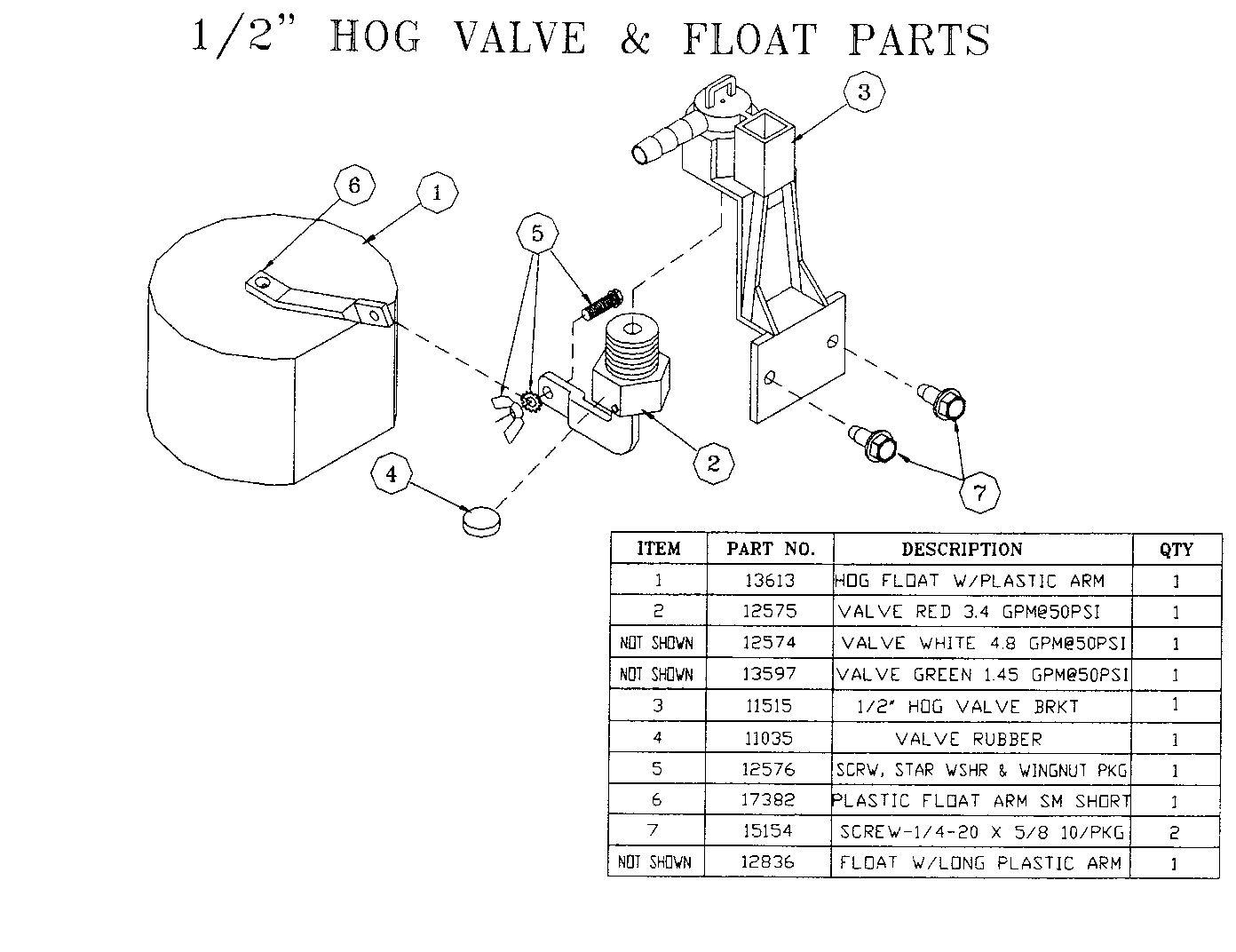 Fountain Parts Diagram