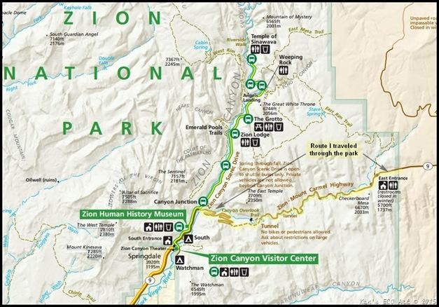 zion national park trail map pdf