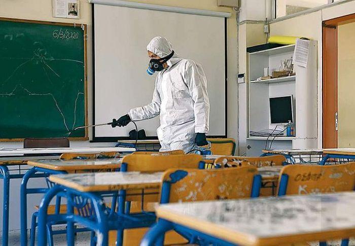 Χ. Γώγος: Εάν εντοπίζεται κρούσμα θα κλείνει τμήμα όχι σχολείο