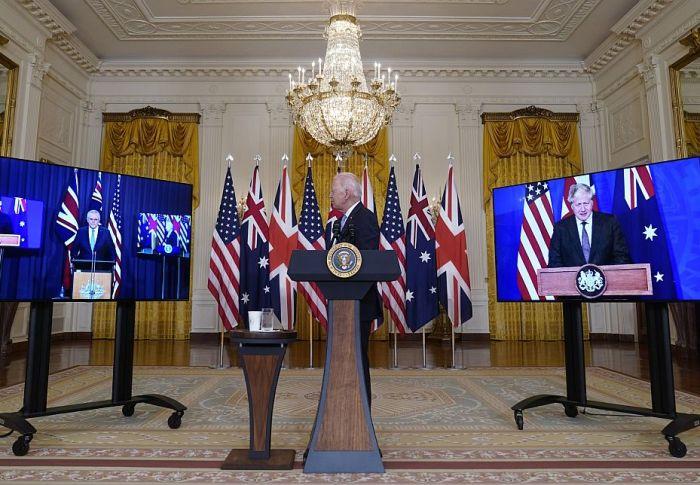 Aukus: Τι σημαίνει για τον κόσμο το σύμφωνο ΗΠΑ – Αυστραλίας – Ηνωμένου Βασιλείου κατά της Κίνας