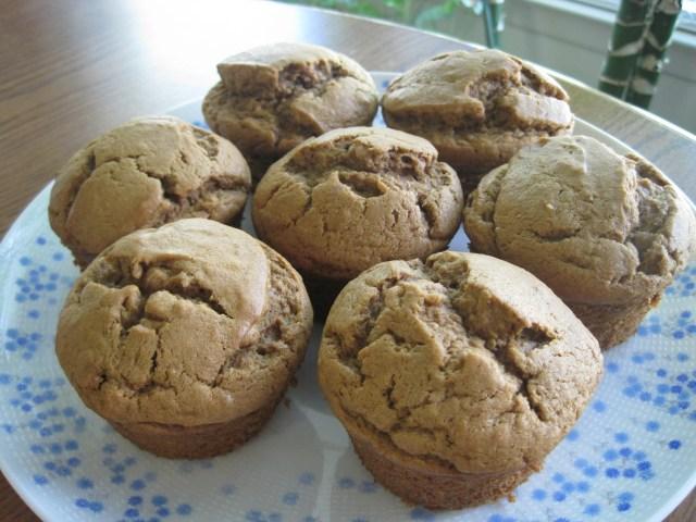 Banana Sour Cream Muffins