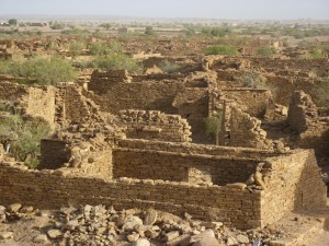 abandoned village kuldhara in jaiselmer