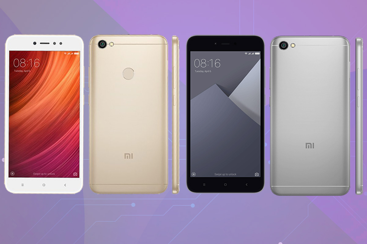 Xiaomi Selfie Phones, Redmi Y1 and Redmi Y1 Lite Launched in India