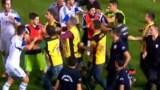 Άγριο ξύλο στο Τουρκία – Κύπρος! Μετατράπηκε σε αρένα το γήπεδο (Video)