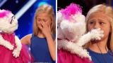 12χρονη εγγαστρίμυθη αφήνει τους κριτές και το κοινό άναυδους με το ταλέντο της